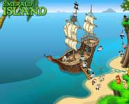 Stop the pirats and save the Emerald Island in the new eco-friendly online game! Here's the 411 on the free game.