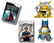 We have videos for LEGO, Harry Potter, Tomb Raider and Skate It, plus preview pics for LEGO Batman, the Pokemon World Championships and more!
