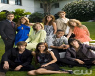 The cast of the new 90210, premiering September 2, 2008 on the CW network.
