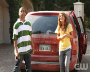 Annie (Shenae Grimes) and Dixon (Tristan Wilds) arrive at their new home in Beverly Hills on the new 90210, premiering September 2, 2008 on the CW.