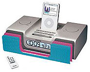 Get an iPod alarm clock radio to help you be on time for class.