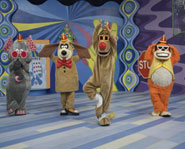 The classic '60s children's TV show The Banana Splits are back on the Cartoon Network!