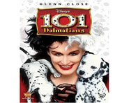 Disney DVD releases 101 Dalmatians on Blu-Ray September 16, 2008.