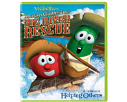 Veggie Tales hit the rapids with Tomato Sawyer & Huckleberry Larry's Big River Rescue!