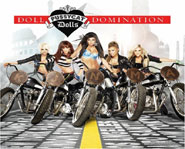 Pussycat Dolls second album, Doll Domination, is out September 23, 2008 on Interscope Records.