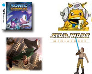Check out videos on Skate and Sonic, an exclusive Star Wars preview and an addictive DS game that's on the way!