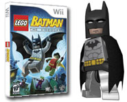 Play as Batman and Robin, or the Joker and dozens of other comic book villains, in LEGO Batman for the Wii! Here's our game review.