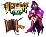 We have a Kidzworld-only look at another mad scientist from the upcoming Monster Lab! Click here to meet Senor De La Sombra and discover the secrets behind the mysterious sorcerer.