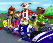 Turbo Dogs premieres on NBC, qubo and ION TV on October 4, 2008.