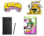 The DSi is coming! Plus, videos for Guitar Hero, Crash, Skate It, Bratz and Build-A-Bear. Get it here.