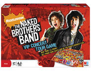 The Naked Brothers Band VIP Concert Tour Game