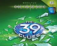 One False Note by Gordon Korman, book two in The 39 Clues series