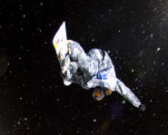 Snowboarder Shaun White at the 12th Winter X Games