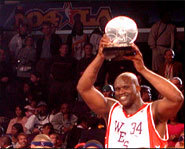 Shaquille O'Neal and Kobe Bryant will meet in the NBA All Star Game