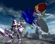 Sonic and The Black Knight, will sonic be able to beat this monstorous dude?