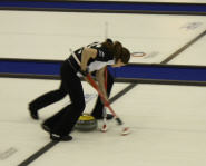 Women's Curling Teams compete in the 2009 World Junior Curling Championship