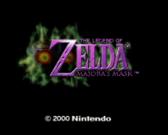 The Legend of Zelda: Majora's Mask was originally on N64