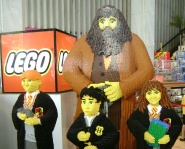 LEGO Harry Potter characters at FAO Schwartz, NY