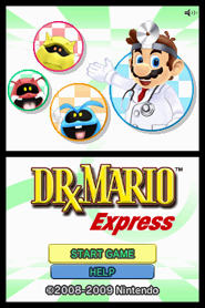 Dr. Mario Express on DSiWare for Nintendo DSi