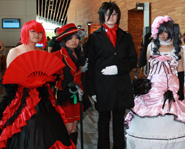 Tons of anime fans dressed as their fave characters!