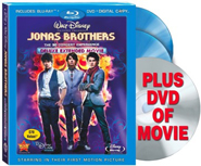 Jonas Brothers The 3D Concert Experience DVD: June 30, 2009