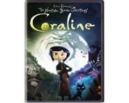 Coraline on Blu-ray and DVD July 21st!