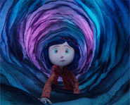 Coraline is a spooky movie about a girl who goes to a different world.