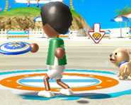Wii Sports' Frisbee Dog Event