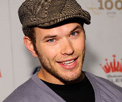 Kellan Lutz will be reprising his role as Emmett Cullen in the next two installements of the Twilight Saga, New Moon, and Eclipse.