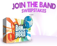Band Hero's Join The Band Sweepstakes