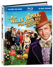 Willy Wonka & the Chocolate Factory Blu-ray Book