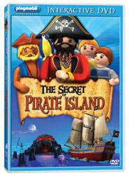 Playmobil: The Secret of Pirate Island Interactive DVD