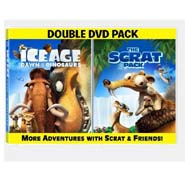 "Ice Age: Dawn Of The Dinosaurs ""Scrat Pack"" Double DVD Pack"