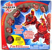 Bakugan Battle Brawlers : 7-In-1 Maxus Dragonoid