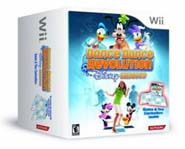 Dance Dance Revolution Disney Grooves For Wii Bundle