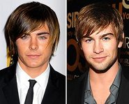 Zac Efron and Chase Crawford