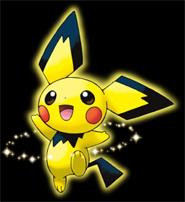 Pikachu-colored Pichu