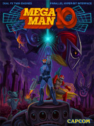 Mega Man 10 Cover Artwork