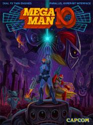 Mega Man 10 Cover Artwork