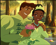 Princess Tiana & Prince Naveen