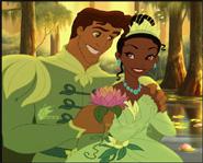 Princess Tiana & Prince Naveen