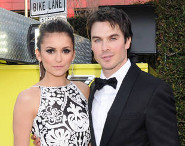 Nina and Ian on the red carpet for the 100th VPD episode celebration