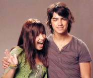 Joe Jonas and Demi Lovato co-starred in Camp Rock