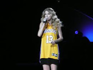 Taylor wears 13 whenever she can