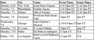Rio 2 Schedule