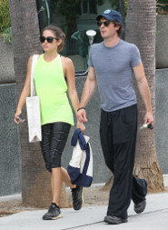 Ian and Nikki went running this weekend