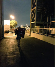 Lea leaves the set of Glee for the last time with this keepsake