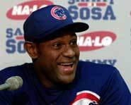 Sammy Sosa will likely start in this year's All-Star game.