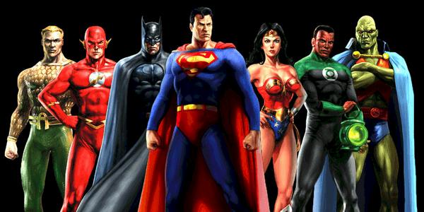 Original justice league heroes quiz feat