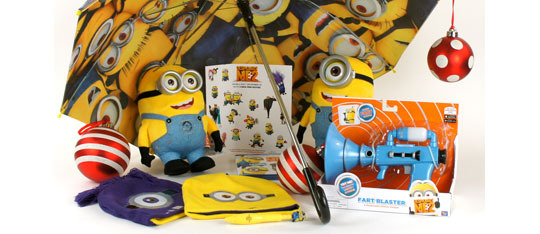 Despicable Me 2 Blu-ray Prize Pack Giveaway!